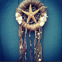 Shells n Starfish Dreamcatcher