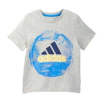 adidas | Field & Court Tee (Toddler & Little Boys)
