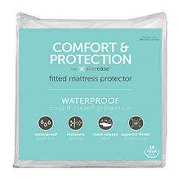 Allerease Comfort And Protection Waterproof Mattress Protector - JCPenney