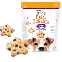 Beneful Baked Delight Stars Chicken/Cheese Dog Cookie Treats 5/8.5oz