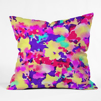 Jacqueline Maldonado Lush 1 Outdoor Throw Pillow