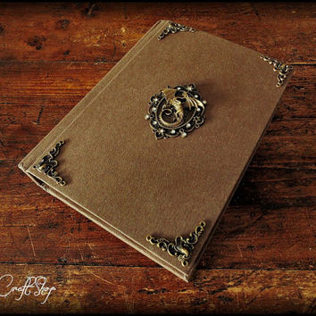 Journal Diary Book of shadows DRAGON - medium size available with 500 pages