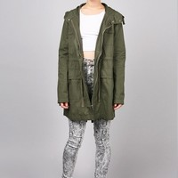 Commander Anorak Jacket | Trendy Coats at Pink Ice