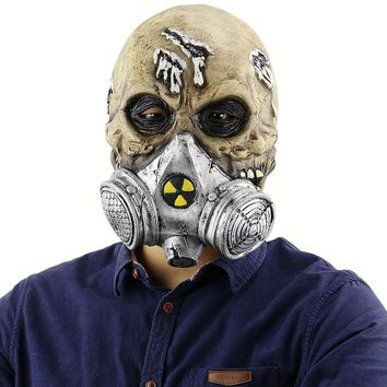 Horrible Halloween Mask Biochemistry Skeleton Soldiers Mask Zombie Mask Masquerade Scary Masks Halloween Party Costume Prop