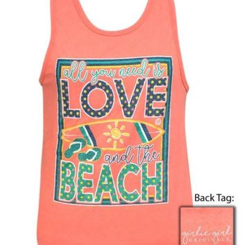 "Girlie Girl ""Love Beach"" Tank Top"
