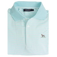 The Performance Polo in Clearwater by Over Under Clothing