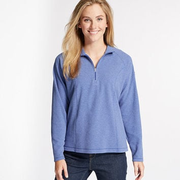 Women's Fitness Fleece, Quarter-Zip Pullover | Now on sale at L.L.Bean