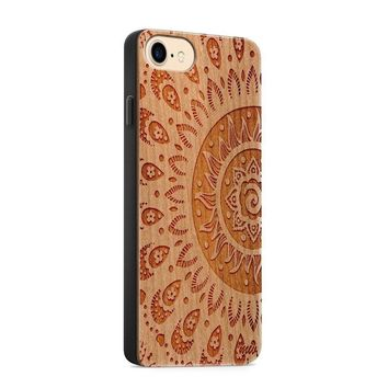 Wooden Phone Case - For iPhone and Samsung   - Sunshine Aztec