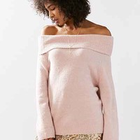Kimchi Blue Ema Off-The-Shoulder Sweater - Urban Outfitters