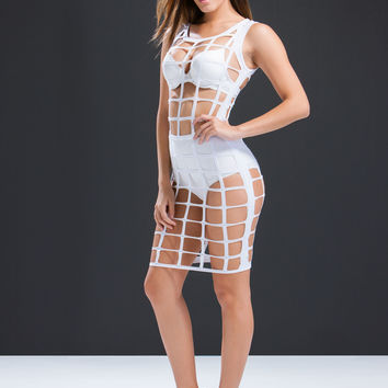 In A Cage Dress