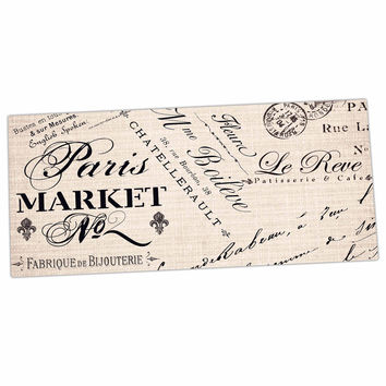 "Sylvia Cook ""French Script"" Handwriting Desk Mat"