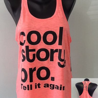TANK TOP Laced Back - Cool Story Bro