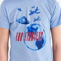Foo Fighters UFO Tee- Blue