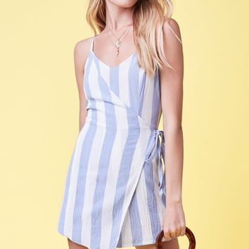 Lottie Moss Wrap Romper at PacSun.com