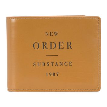New Order Substance Bi-Fold Wallet by RAF SIMONS