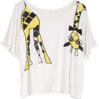 dELiAs > Nerdy Giraffe Tee > tops > view all tops