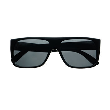 Polarized Lens Retro Square Flat Top Sunglasses Shades FT52