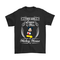 KUYOU This Girl Loves Her Mickey Mouse Shirts