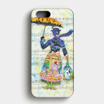 Mary Poppins Art iPhone SE Case