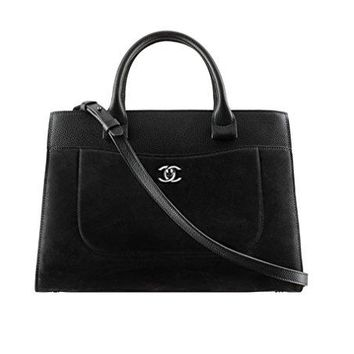 Aya Chanel black sheepskin handbag