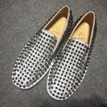 Christian Louboutin Cl Roller Boat Sneakers Reference 13 - Best Online Sale