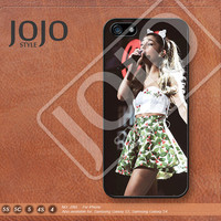 Ariana Grande iPhone 5 Case, iPhone 5c Case iPhone 4 Case iPhone 5s Case iPhone 4s Case Samsung Galaxy S3 Galaxy S4 Case-J265