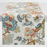Blue Palampore Anika Table Runner