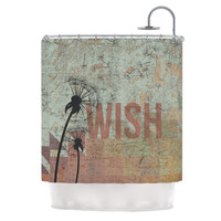 "KESS Original ""Wish"" Shower Curtain, 69"" x 70"" - Outlet Item"