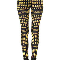 The Golden God Leggings