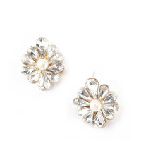 Flower Statement Ear Studs