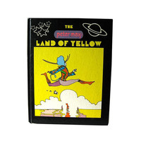 The Land Of Yellow by Peter Max - Vintage Art Book - Pop Art - MOD Art Book - Artist Peter Max - Gift Book - First Edition