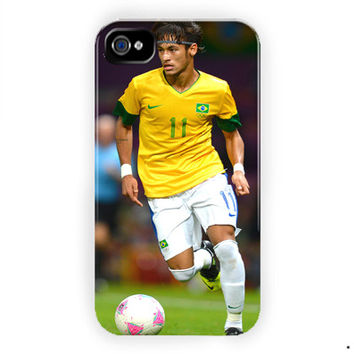 Neymar Football Brazil Sport For iPhone 4 / 4S Case