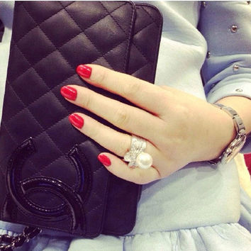 Shiny Jewelry Gift New Arrival Stylish Korean Pearls Ring [6586100295]