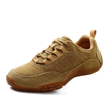 Linen Permeable Shoes Outdoors Casual Canvas Men's Shoes [6542538051]