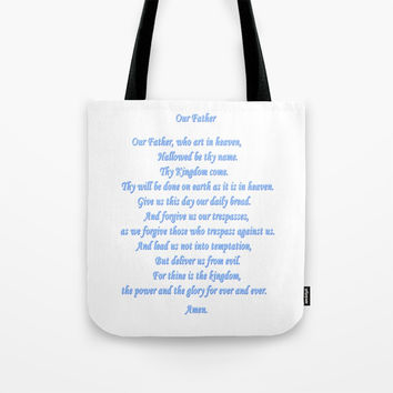 Our Father Tote Bag by Zia