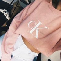 Calvin Klein::female Monogrammed sweater