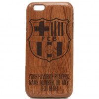 iPhone Barcelona Soccer Wooden Case – Lionel Messi iPhone Case