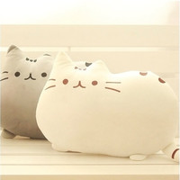 Cute Big Cat Shape Pillow Cushion Soft Plush Toy Doll Home Sofa Decoration Decor 2 Colors = 1929846980