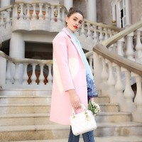 Heart Wool Coat