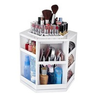 Tabletop Spinning Cosmetic Organizer