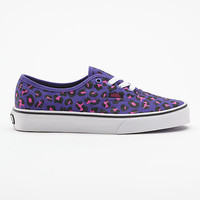 Cheetah Glitter Authentic Vans