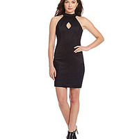 French Connection Scubalicious Dress - Black