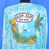 80s Ron Jon Surf Shop Long Sleeve t-shirt Medium