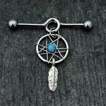 Dreamcatcher Industrial Barbell, Stainless Steel Scaffold.......Available Barbell sizes 32mm, 35mm, 38mm