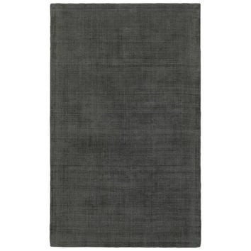 Oriental Weavers Mira 35103 Charcoal/ Charcoal Solid Area Rug