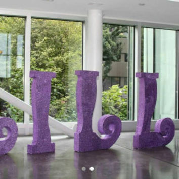 Free standing letters-Extra Large styrofoam letters - glitter letters-personalized name-white letters - wedding name-pool letters