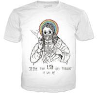 Jesus Took LSD And Thought He Was Me Tee