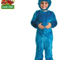 Sesame Street Cookie Monster Comfy Fur Baby Costume