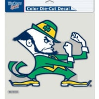 "Notre Dame Fighting Irish Die-Cut Decal - 8""x8"" Color"