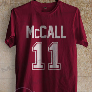 Mccall shirt beacon hills teen wolf tshirt clothing unisex adult tee